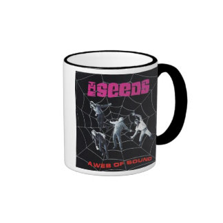 The Seeds Web of Sound Cup Ringer Coffee Mug