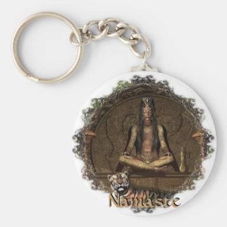 The Seer-Namaste Keychain