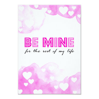 The sees mines for rest of my life! card