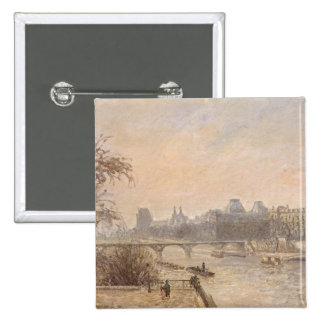 The Seine and the Louvre, 1903 Button