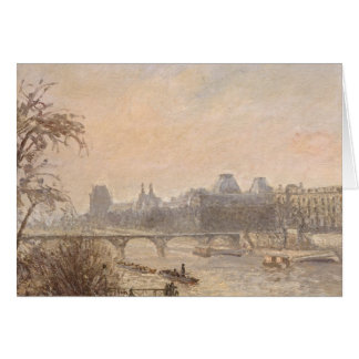 The Seine and the Louvre, 1903 Card