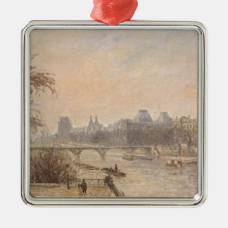The Seine and the Louvre, 1903 Metal Ornament