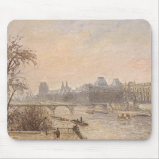 The Seine and the Louvre, 1903 Mouse Pad