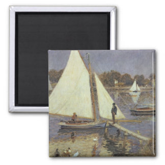 The Seine at Argenteuil, 1874 Fridge Magnets