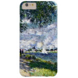 The Seine at Argenteuil Barely There iPhone 6 Plus Case