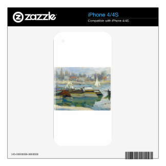 The Seine at Asnieres by Claude Monet iPhone 4S Decal