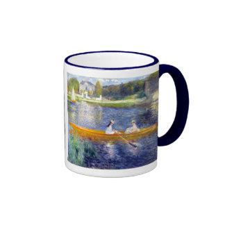 The Seine at Asnieres (The Skiff) Renoir Ringer Mug