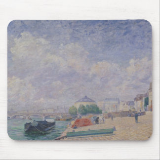 The Seine at Bercy, 1885 Mouse Pad