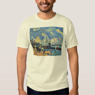 The Seine At Bercy Paintings After Armand Guillaum Tee Shirt