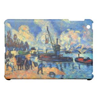 The Seine at Bercy - Paul Cézanne (1878) iPad Mini Cover