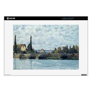 The Seine at Bougival, 1873 Laptop Skin
