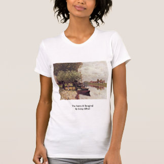 The Seine At Bougival By Sisley Alfred Shirt