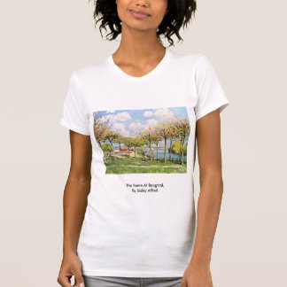 The Seine At Bougival,  By Sisley Alfred Tee Shirt