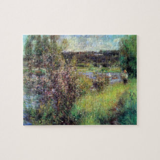 The Seine at Chatou by Pierre Renoir Jigsaw Puzzle