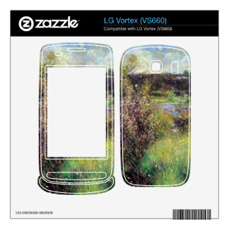 The Seine at Chatou by Pierre Renoir Skins For The LG Vortex