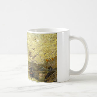 The Seine at Rouen by Camille Pissarro Coffee Mug