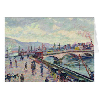 The Seine at Rouen Card