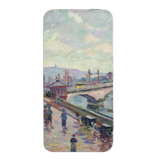 The Seine at Rouen iPhone SE/5/5s/5c Pouch