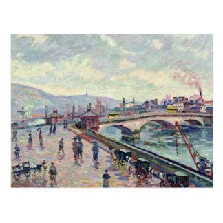 The Seine at Rouen Postcard