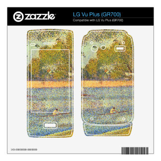 The Seine at the Grand Jatte, Spring by Seurat Decals For The LG Vu Plus