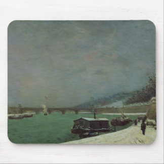 The Seine at the Pont d'Iena, Winter, 1875 Mouse Pad