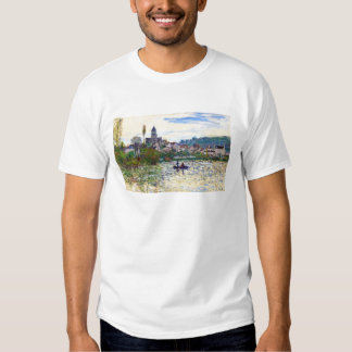 The Seine at Vetheuil  Claude Monet T-shirt