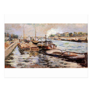 The Seine by Armand Guillaumin Postcard