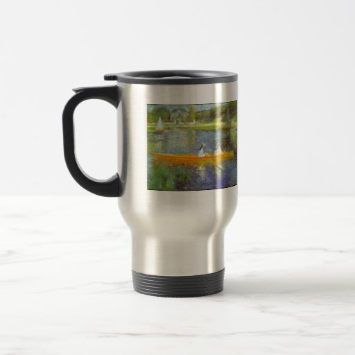 The Seine by Pierre Renoir Coffee Mugs