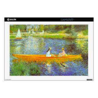 The Seine by Pierre Renoir Decals For Laptops