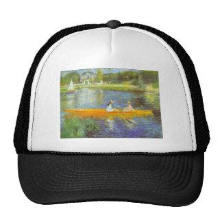 The Seine by Pierre Renoir Mesh Hat
