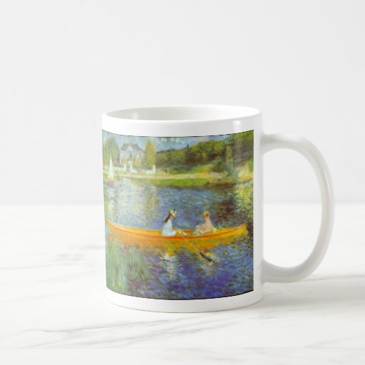 The Seine by Pierre Renoir Mug