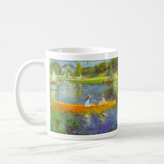 The Seine by Pierre Renoir Classic White Coffee Mug
