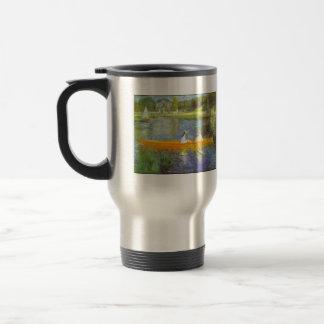 The Seine by Pierre Renoir Coffee Mugs