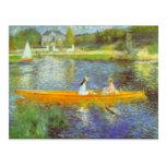 The Seine by Pierre Renoir Postcard