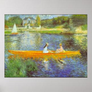 The Seine by Pierre Renoir Print