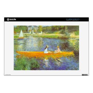 The Seine by Pierre Renoir Laptop Decals