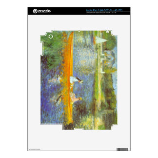The Seine by Pierre Renoir Skin For iPad 3