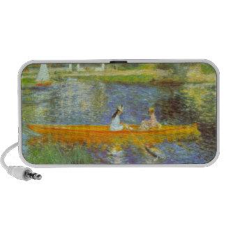 The Seine by Pierre Renoir Notebook Speakers