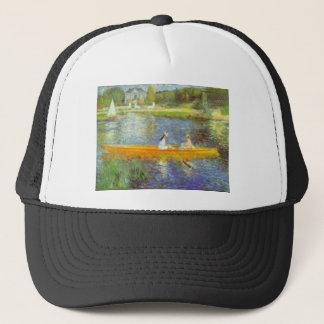 The Seine by Pierre Renoir Trucker Hat