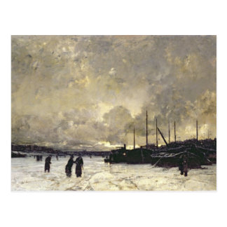 The Seine in December, 1879 Post Cards