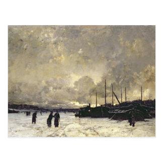 The Seine in December, 1879 Postcard