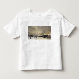 The Seine in December, 1879 Toddler T-shirt