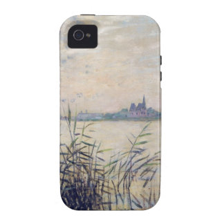 The Seine near Argenteuil - Claude Monet Case For The iPhone 4