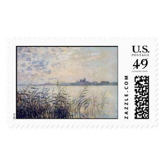 The Seine near Argenteuil - Claude Monet Postage