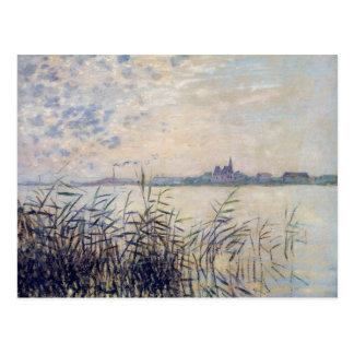 The Seine near Argenteuil - Claude Monet Postcard