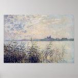 The Seine near Argenteuil - Claude Monet Poster