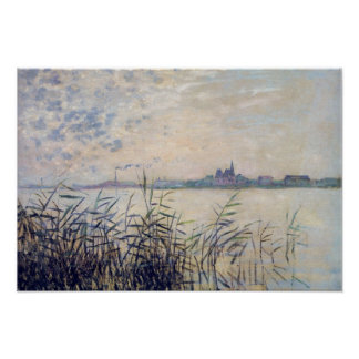The Seine near Argenteuil - Claude Monet Poster
