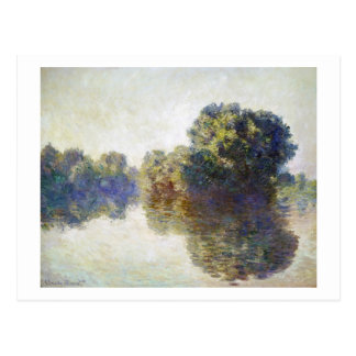 The Seine near Giverny Claude Monet Postcard