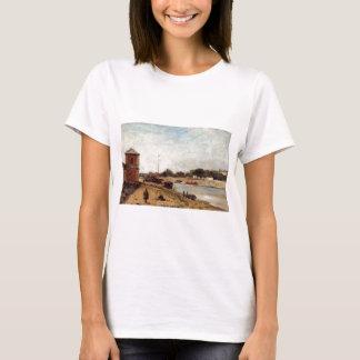 The Seine opposite the wharf de passy Paul Gauguin T-Shirt