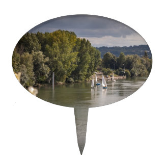The Seine to rivet, bets, France Cake Topper